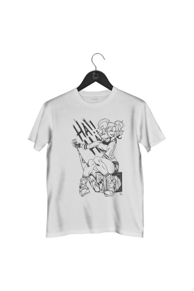 camiseta-harley-quinn-masculina-branca