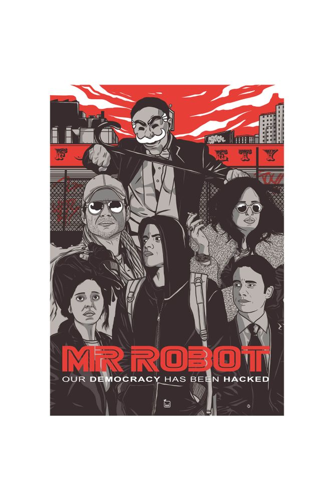 mestre-das-camiseta-mr-robot-our-democracy-has-been-hacked