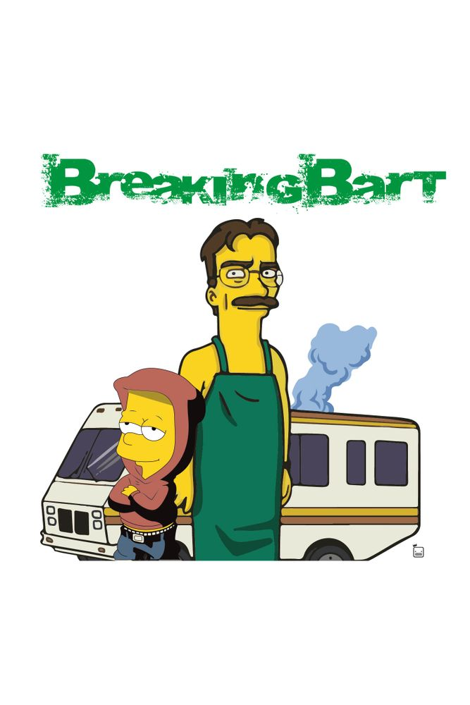 mestre-das-camiseta-breaking-bad-bart-simpson-x-heisenberg
