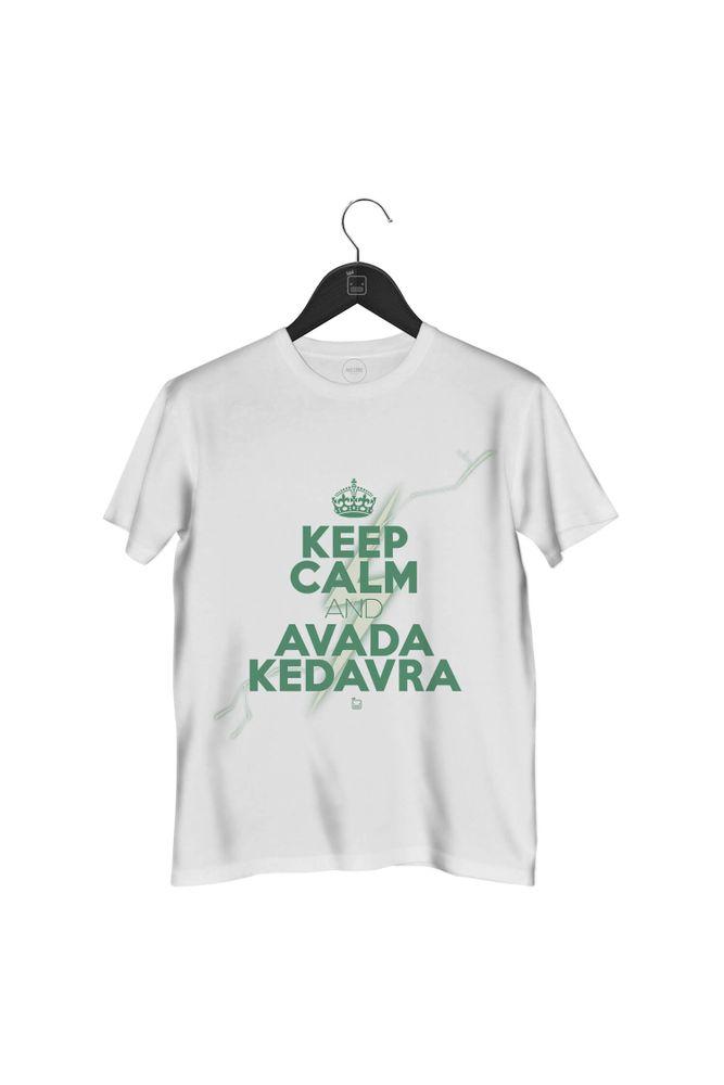 camiseta-keep-calm-and-avada-kedavra-masculina-branca