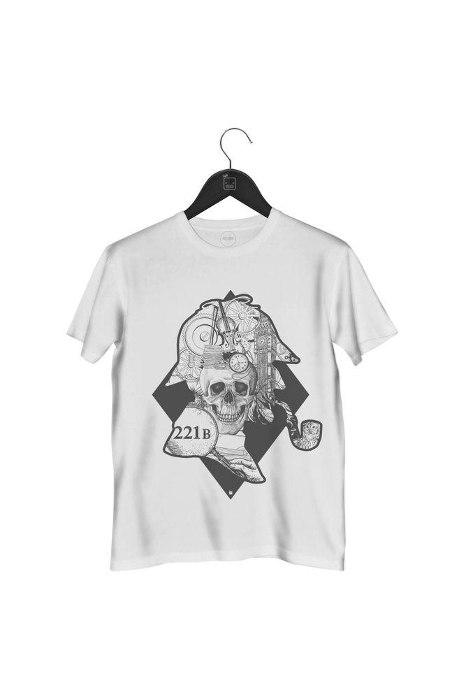 camiseta-sherlock-holmes-masculina-branca