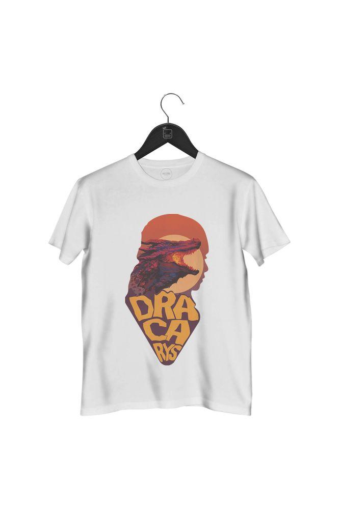 camiseta-dracarys-masculina-branca